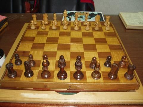 Emotion of chess Most beautiful chess set